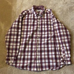 Old Navy 2X button up long sleeve shirt